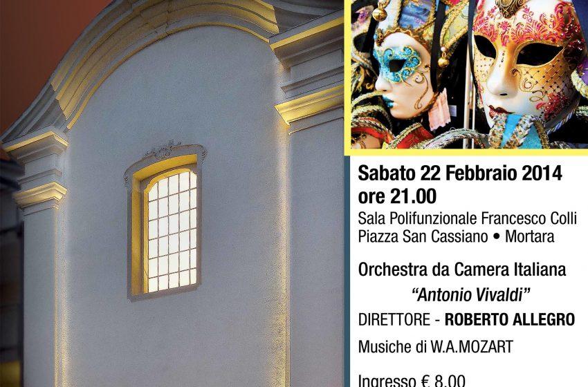 """ANTALON und COLUMBINE Pantomima mozartiana con maschere veneziane Orchestra da Camera Italiana """"Antonio Vivaldi"""""""
