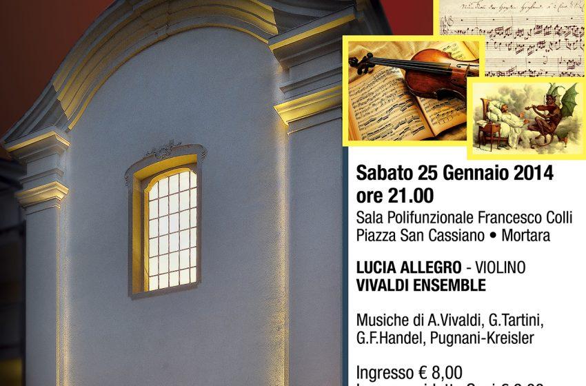 """CONCERTO del NUOVO ANNO IL TRILLO del DIAVOLO… e altre """"FOLLIE"""" sul Violino"""