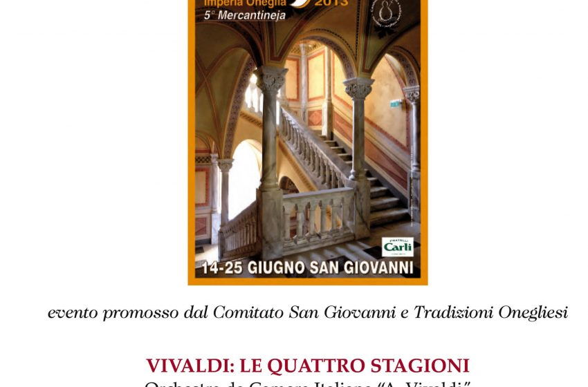OMAGGIO ALLA SERENISSIMA VIVALDI: LE QUATTRO STAGIONI I solisti del Vivaldi
