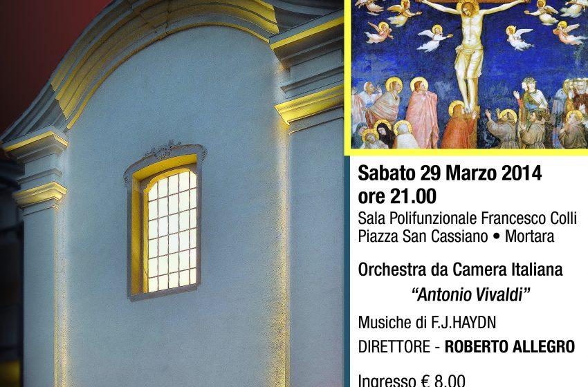 """HAYDN Le ultime sette parole di Cristo sulla Croce Orchestra da Camera Italiana """"Antonio Vivaldi"""""""