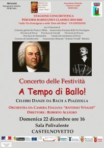 CONCERTO DELLE FESTIVITA' A TEMPO DI BALLO!