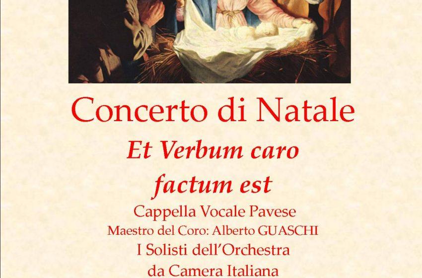 """CONCERTO di NATALE Et Verbum Caro factum est Cappella Vocale Pavese I Solisti dell'Orchestra da Camera """"Antonio Vivaldi"""""""
