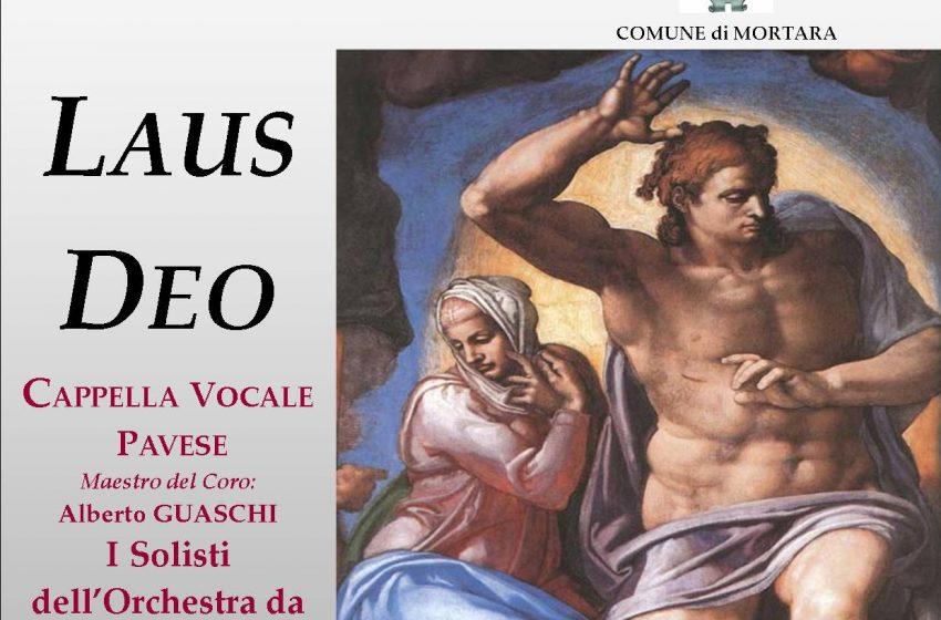 """LAUS DEO Cappella Vocale Pavese I Solisti dell'Orchestra da Camera Italiana """"Antonio Vivaldi"""""""