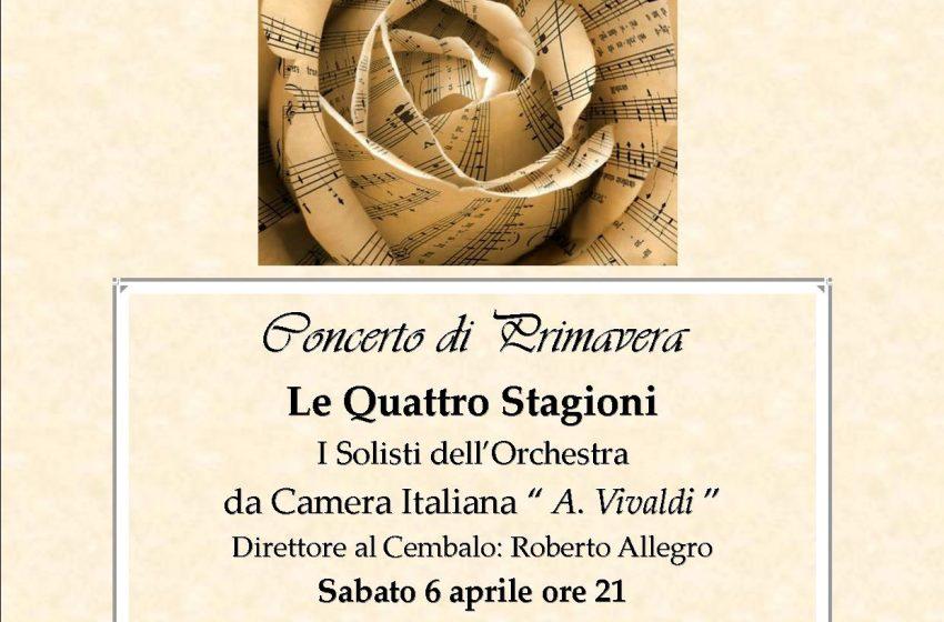 CONCERTO di PRIMAVERA Armonici Virtuosismi Barocchi