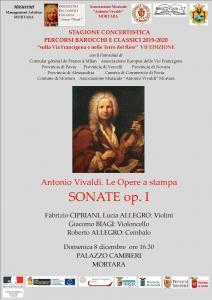 CONCERTO ANTONIO VIVALDI. Le Opere a stampa. SONATE OP. I