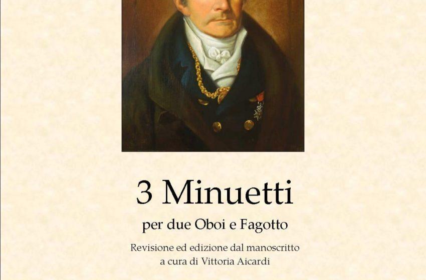 Tre minuetti per 2 Oboi e Fagotto di Antonio Salieri