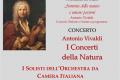 Sabato 16 ottobre 2021 alle ore 20,30 nella Chiesa Parrocchiale Santa Maria Assunta il concerto dei Solisti dell'Orchestra da Camera Italiana 'Antonio Vivaldi' con direttore al cembalo Roberto Allegro.